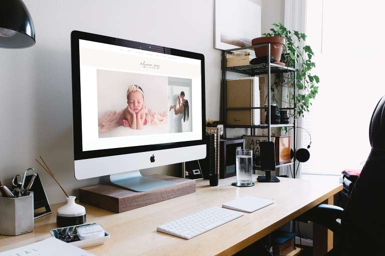 Custom Website Design for Alyssa Joy Photography