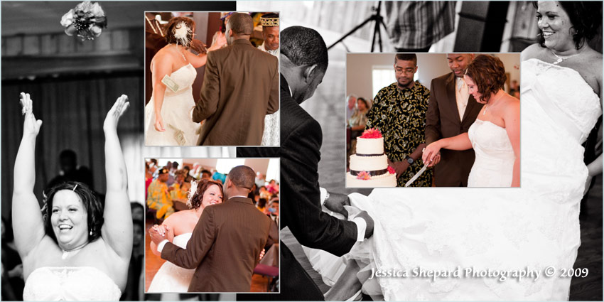 professional wedding album design by portland photographer jessica shepard