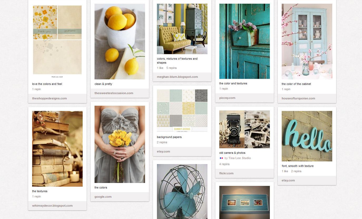 Pinterest Style Board Web Design For Photographers Pro