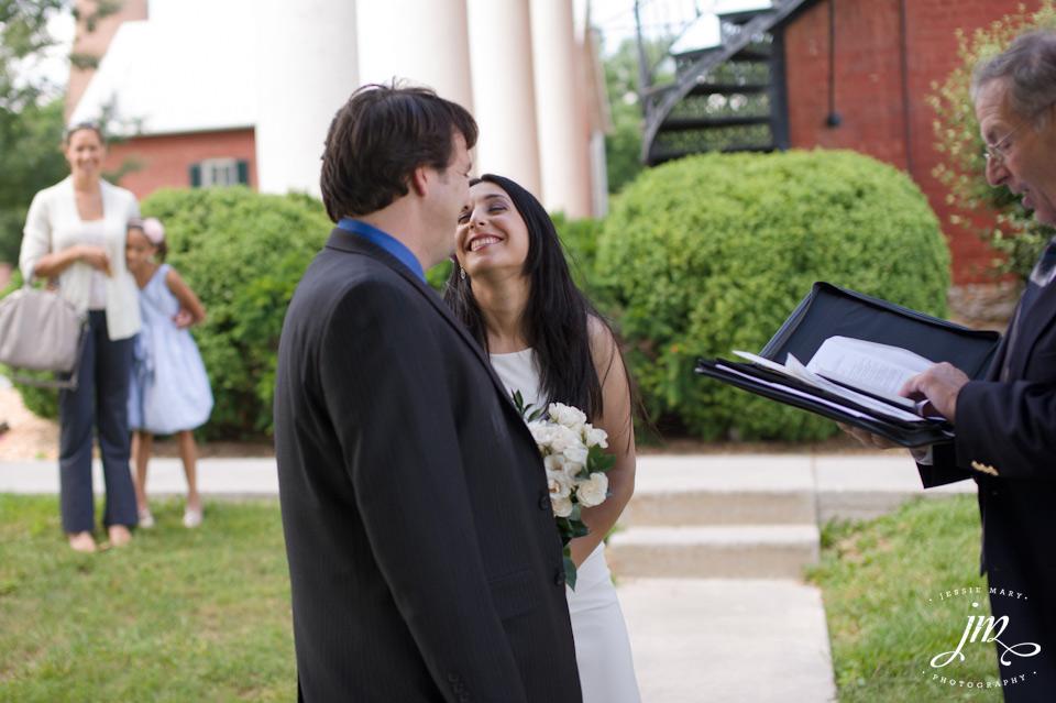 Virginia Courthouse Wedding Berryville Virginia Wedding at