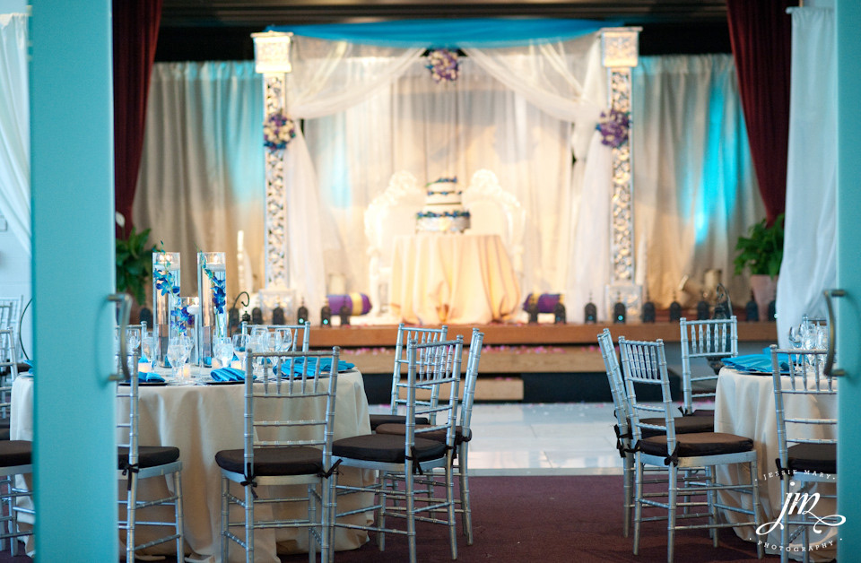 Washington DC Wedding with Teal and Silver Colors - Web ...
