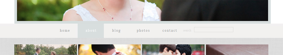 Pro Photo 5 Buttons with Hover State