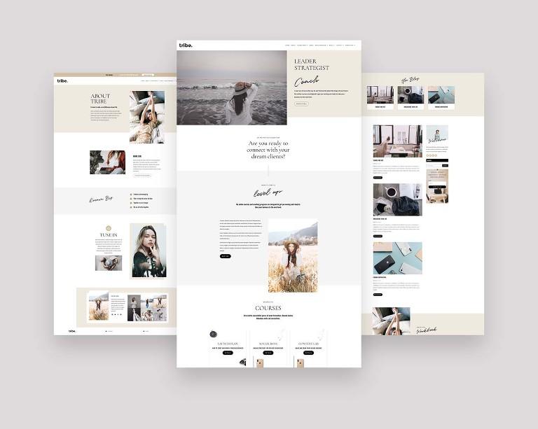 Website Templates for Creative Women