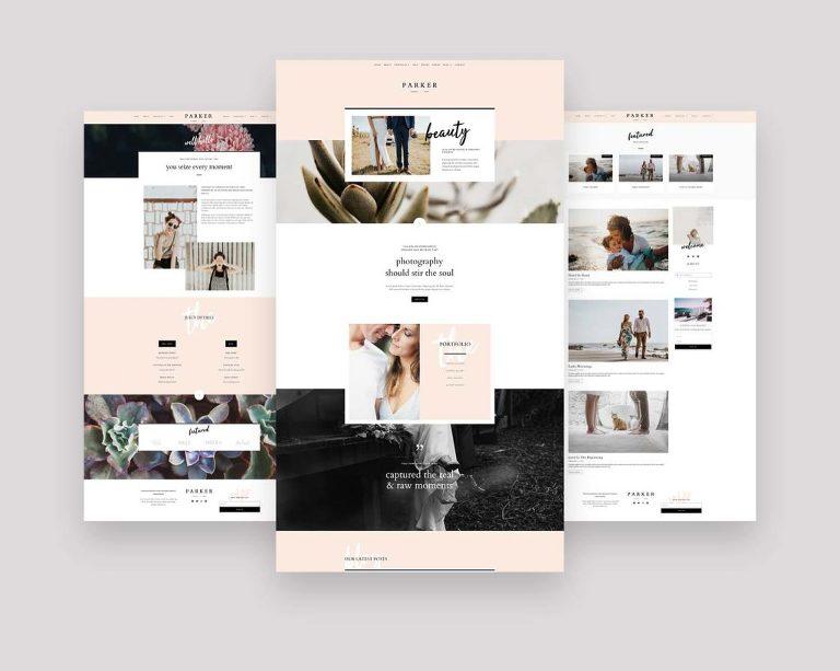 Elementor templates for creative women