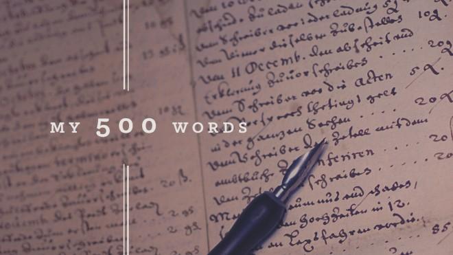 500 words blogging challenge