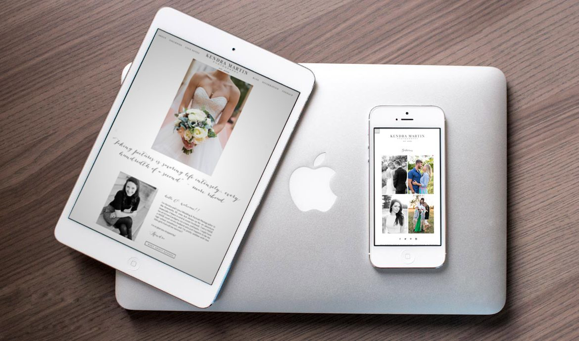A New ProPhoto 6 Website for Kendra Martin Photography