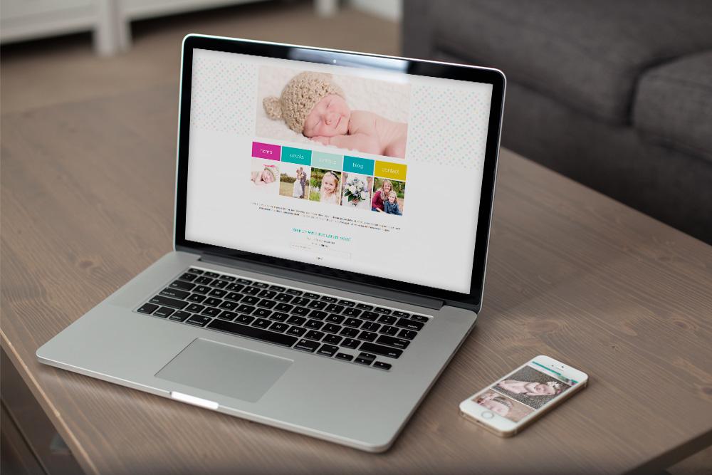 Brie Homer Photography   Pro Photo Website Design