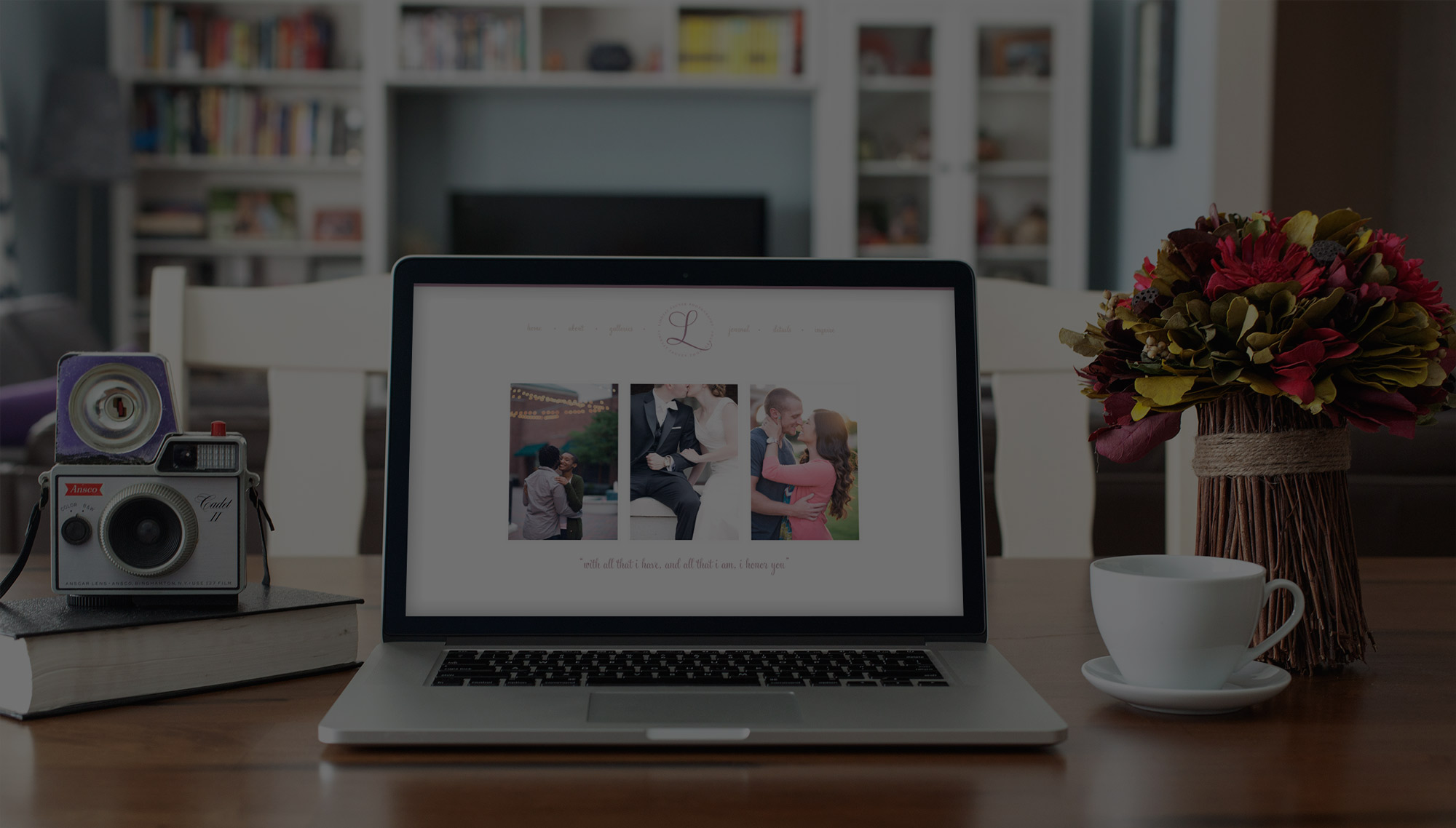 Reston web design | Custom website designer for photographers