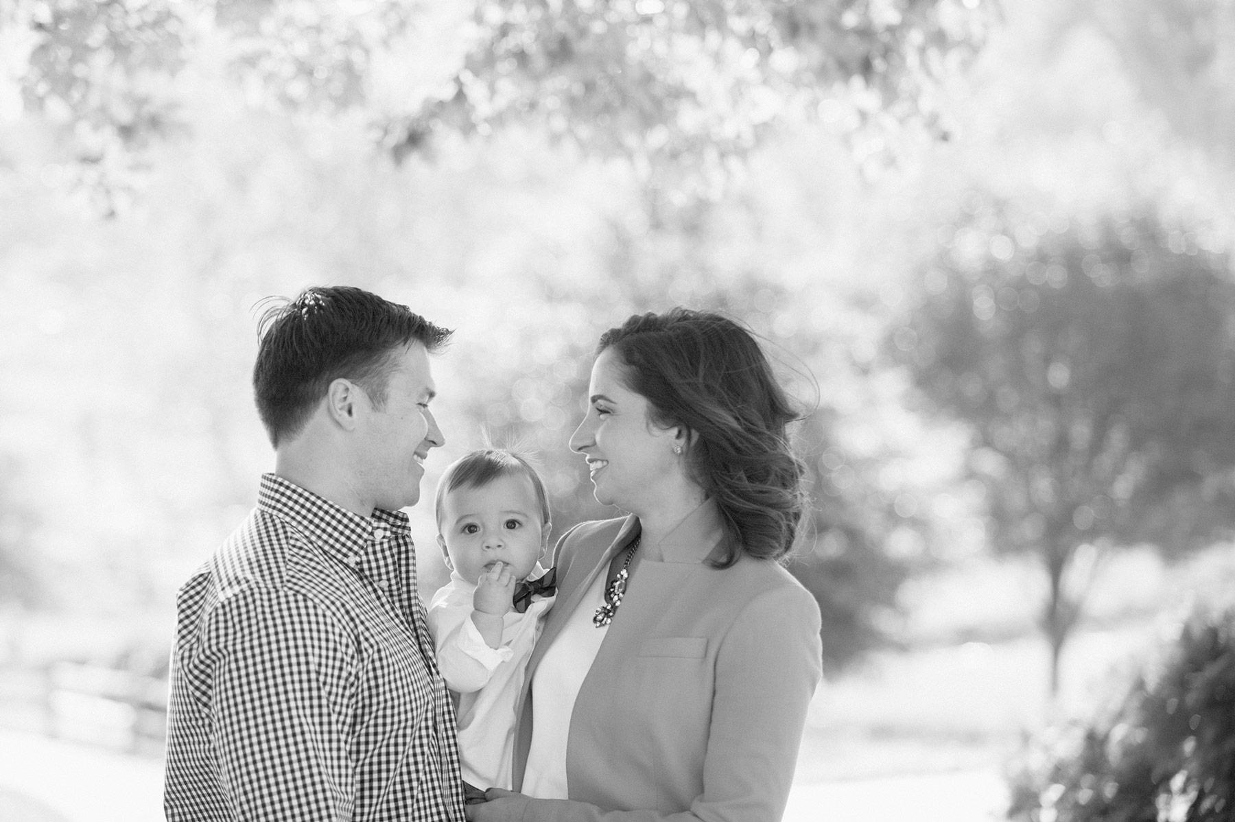 Leigh + Braden | Reston Family Photography