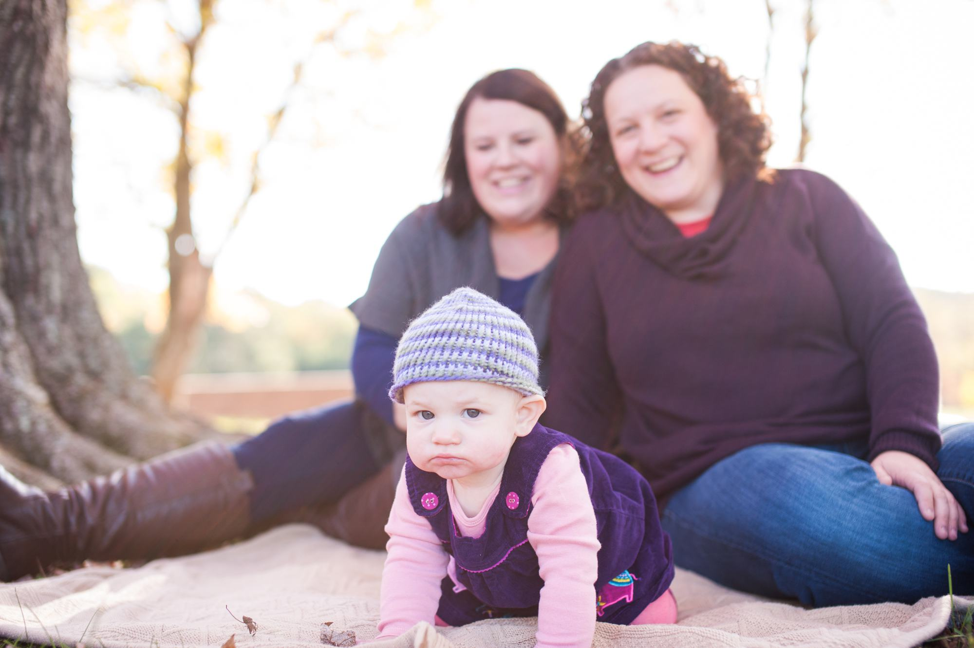 Julie and Rachel's Family Portraits in Reston